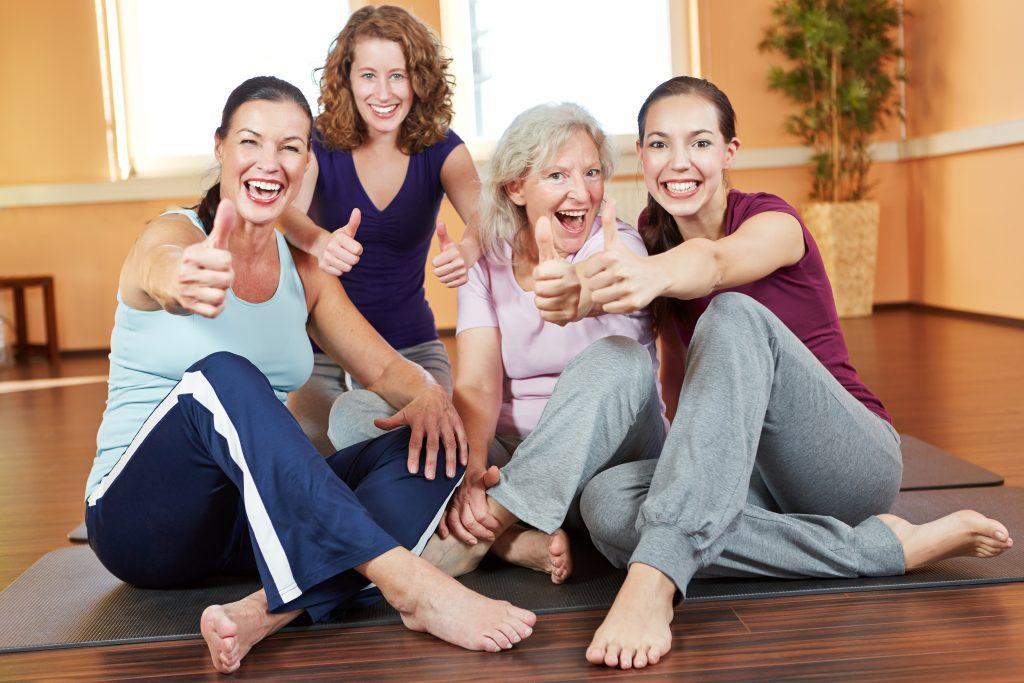 allenamento a casa per donne