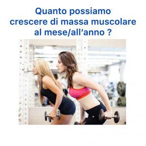 allenamento con i pesi rende le donne grosse