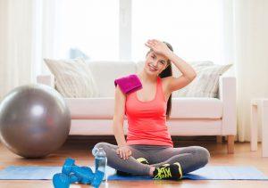 allenamento a casa donne principianti